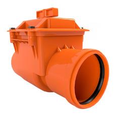 Обратный клапан для канализации 110 мм OSTENDORF
