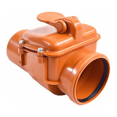Обратный клапан для канализации 160 мм E.D.Group