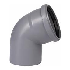 Угол для внутренней канализации 110 х 67° Wavin