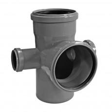 Крестовина (пятерник) канализационная двухплоскостная Фабипласт 110 х 110 х 90° х 50 мм