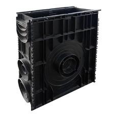 Пескоуловитель пластиковый сборный Basic 500 х 156 х 600 мм Standartpark