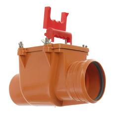Горизонтальный обратный клапан для канализации 110 мм Pestan