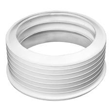 Манжета резиновая переходная 123 х 110 мм (белая) Симтек
