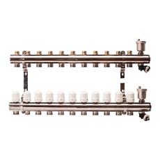 Гребенка для радиаторного отопления APE на 11 выходов