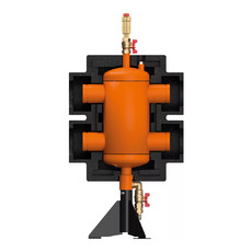 Гидравлическая стрелка DN80/6 бар HZW Meibes