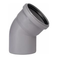 Угол для внутренней канализации 110 х 45° Wavin