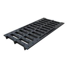 Решетка водоприемная щелевая чугунная для лотка Basic DN200 Standartpark