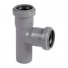 Тройник для внутренней канализации 40 х 40 х 87,5° Wavin