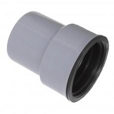 Переход на чугун для внутренней канализации 110 x 100 мм Wavin