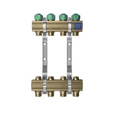 Коллектор для теплого пола на 9 контуров KAN-therm серия 71А