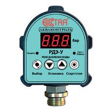 Электронное реле давления воды для насосов РДЭ-10Универсал 1.5 кВт Акваконтроль