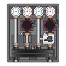 Насосно-смесительный модуль Kombimix UK/MKST Meibes без насоса