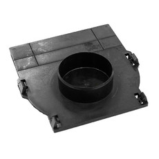 Заглушка торцевая с замками DN100 Basic 170 x 177 мм для лотка Standartpark