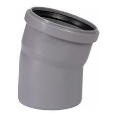 Угол для внутренней канализации 110 х 15° Wavin