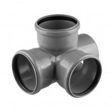 Крестовина канализационная двухплоскостная Armakan 110 х 110 х 110 мм 90°