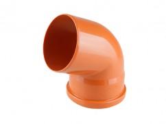 Колено для наружной канализации 110х67 РосТурПласт