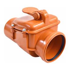 Обратный клапан для канализации 110 мм E.D.Group