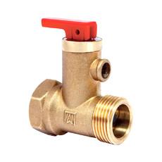 """Предохранительный клапан для бойлера 1/2""""ВР/НР с обратным клапаном Afriso"""