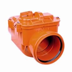 Обратный клапан для канализации 110 мм Ростурпласт
