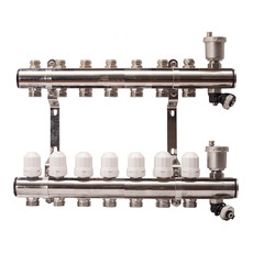 Гребенка для радиаторного отопления APE на 7 выходов
