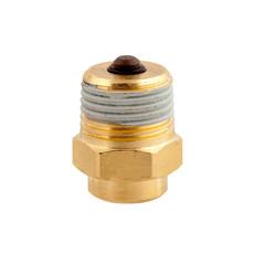 """Отсечной (обратный) клапан для манометра 1/4""""ВР х 1/2""""НР Afriso"""