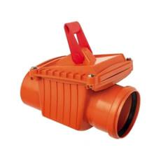 Обратный клапан для канализации 110 мм Capricorn