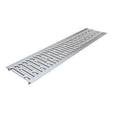 Решетка штампованная из нержавеющей стали для лотка Basic DN200 Standartpark