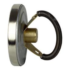 Термометр накладной для отопления 80 мм до 120° С с пружиной Afriso