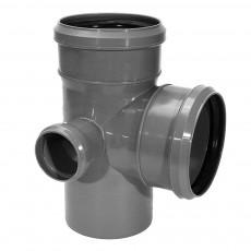 Крестовина канализационная двухплоскостная Armakan 110 х 110 х 90° х 50 мм (левая)