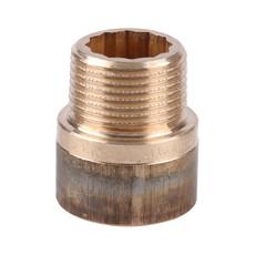 """Удлинитель бронзовый 20 мм 1"""" Viega"""