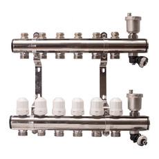 Гребенка для радиаторного отопления APE на 6 выходов